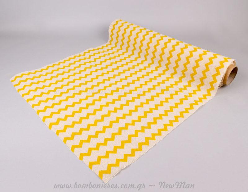 Λονέτα σεβρον κίτρινο
