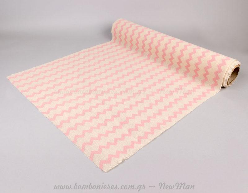 Λονέτα σεβρον ροζ