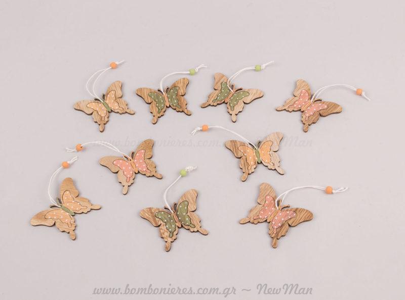 Κρεμαστές πεταλούδες (σετ 9)
