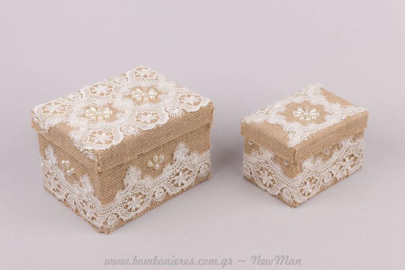 Κουτί σε δύο μεγέθη