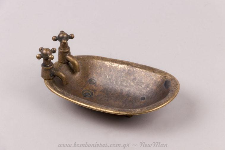 Μπανιέρα vintage μπρούτζινη μινιατούρα