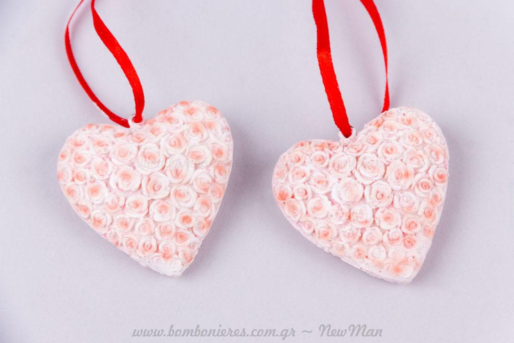 Καρδιά τριαντάφυλλα ροζ!