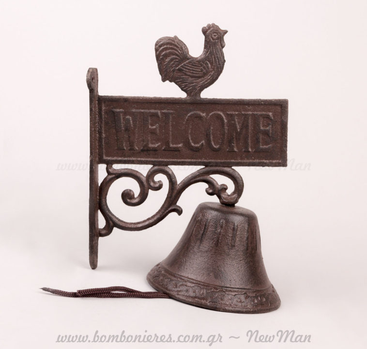 Welcome καμπάνα με Κόκκορα!