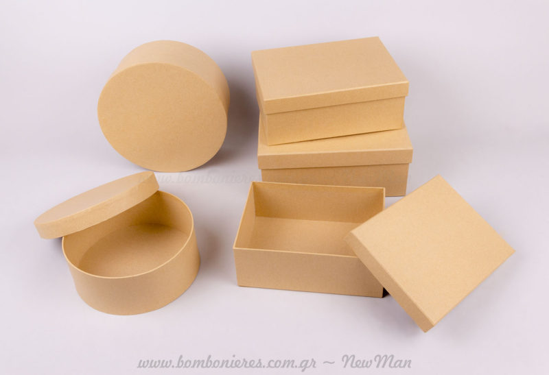 Χάρτινα κουτιά κραφτ