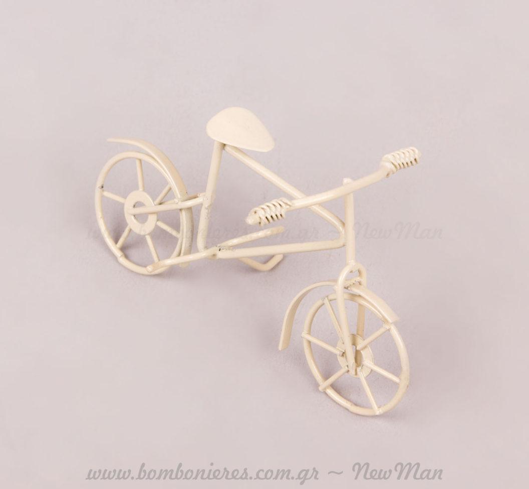 Μεταλλικό ποδήλατο Ivory