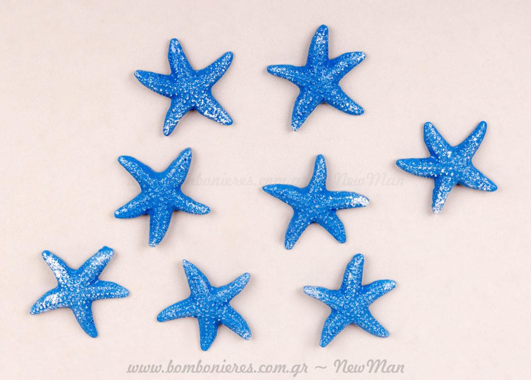 Αστερίες αυτοκόλλητα σετ 8