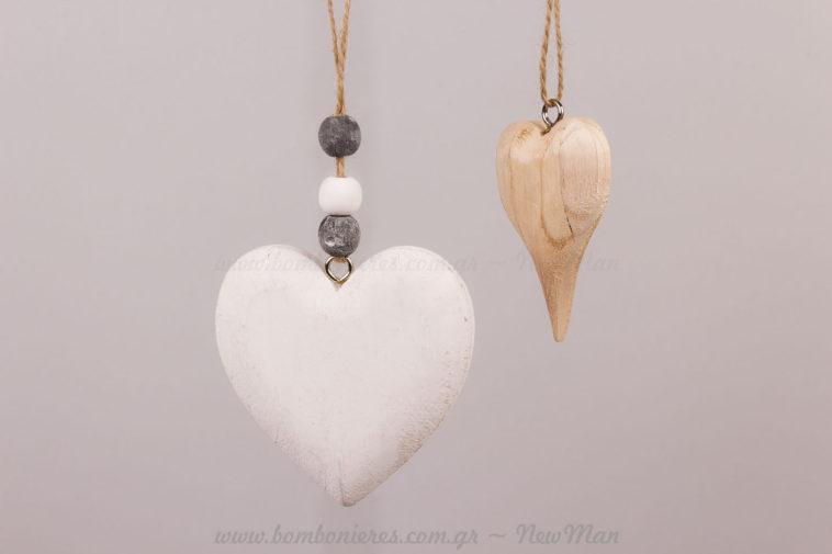 Καρδιές ξύλινες