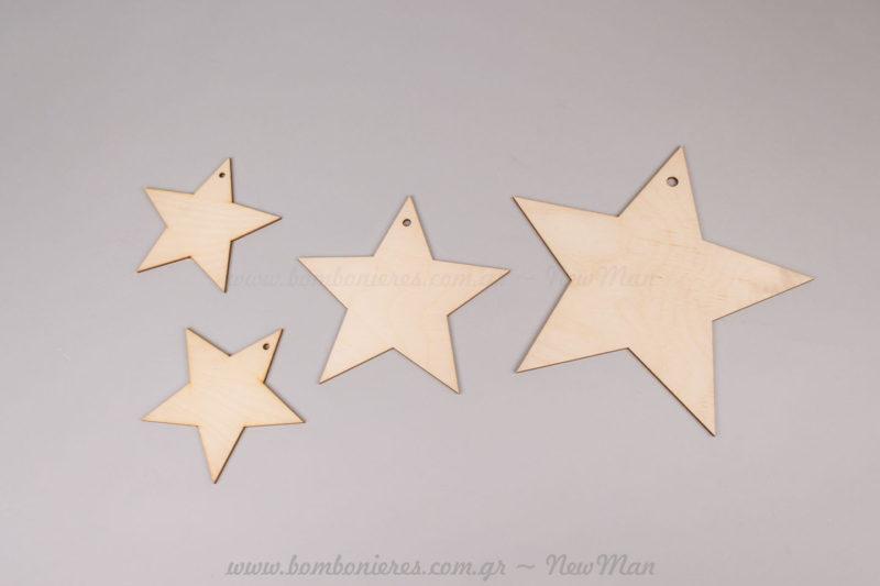 Αστέρια ξύλινα
