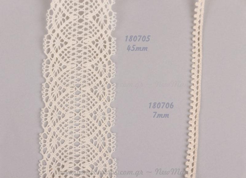 180705 (45mm) & 180706 (7mm)