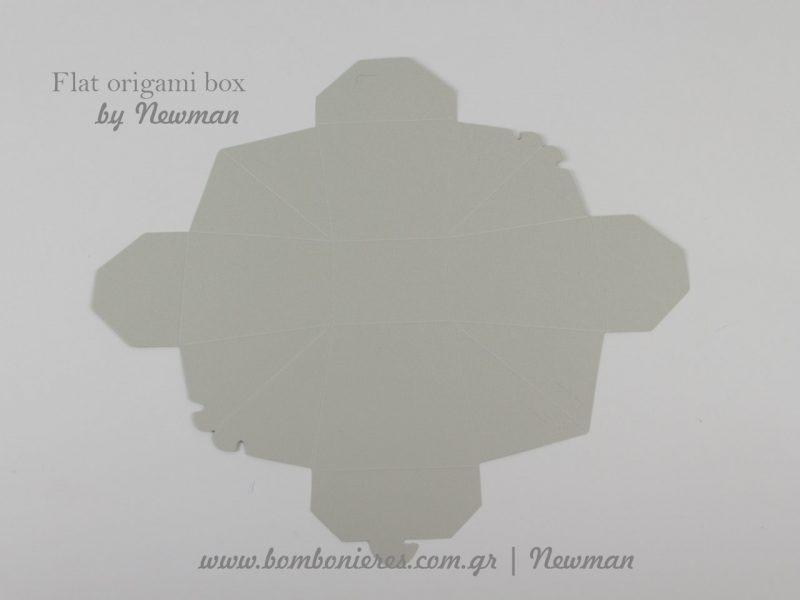 flat kouti origami box by newman