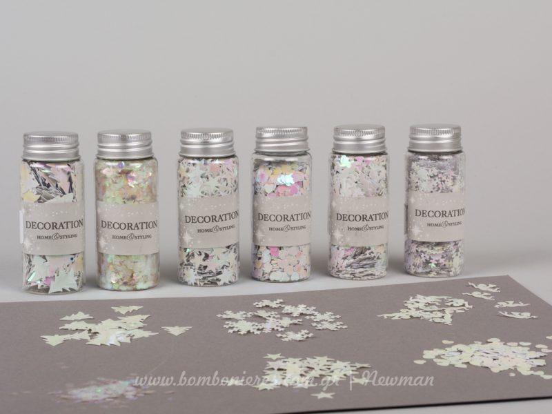 confetti lefko schedia κονφετί σε λευκό χρώμα και σχέδια