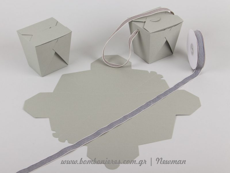 kouti origami box grey