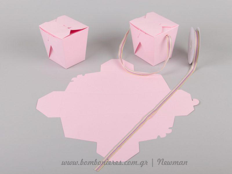 kouti origami box roz