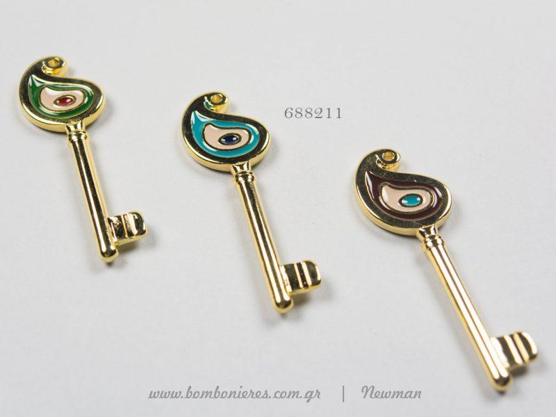 γούρια κλειδιά με σμάλτο kremasta gouria kleidia dakri me smalto