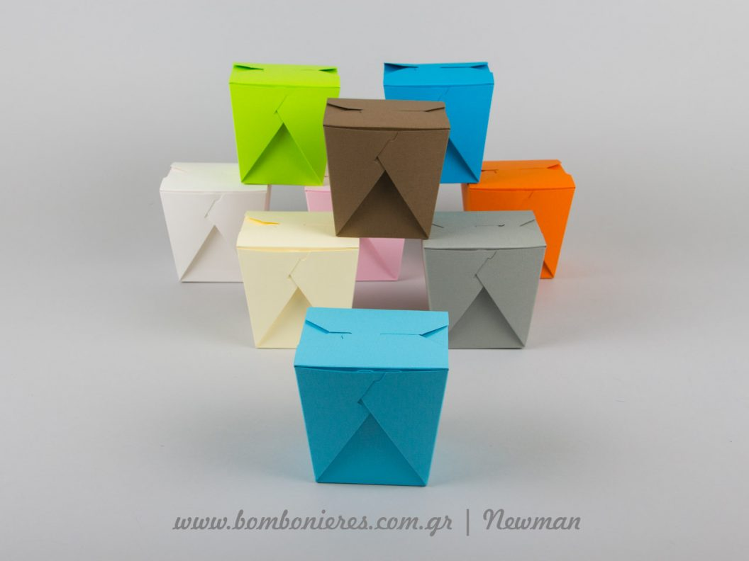origami boxes colours newman