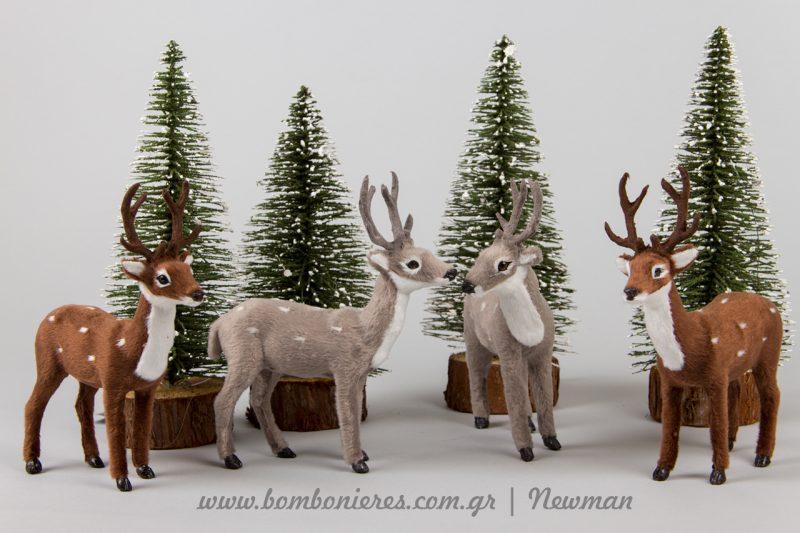 ελαφάκια και ελατάκια χριστουγεννιάτικα elafakia elatakia xristougenniatika diakosmitika