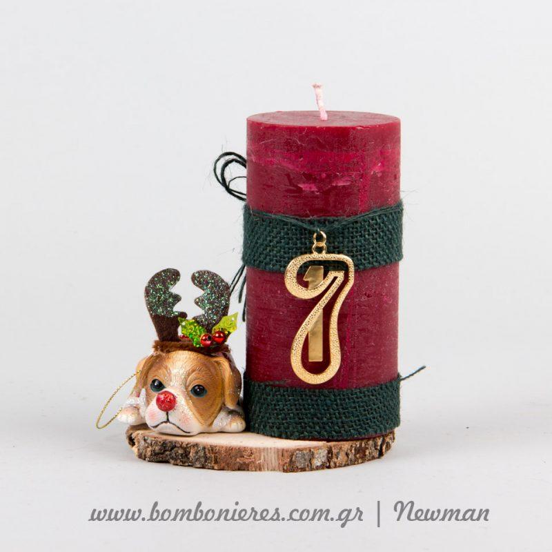 ρετρό vintage κεριά γούρια keria gouria idea newman