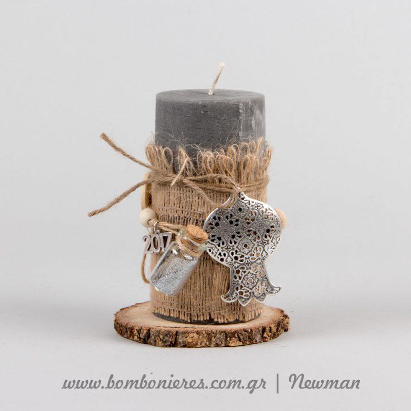 Rustic κεριά γούρια keria gouria idea newman