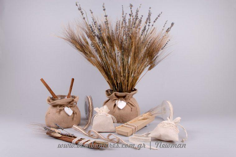 064c20a411b2 Μπομπονιέρες με στάχυα και λεβάντες mpomponieres idees stachi lavender  levanta
