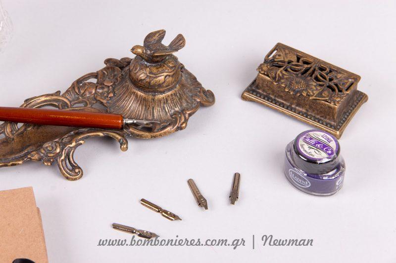 Είδη καλλιγραφίας και vintage μπουκάλια λικέρ mpoukalia vintage penes ftera