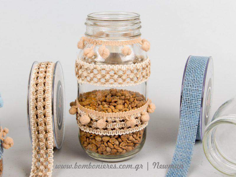 Handmade βαζάκι για ρεσώ DIY vazakia kiropigia stolismena newman