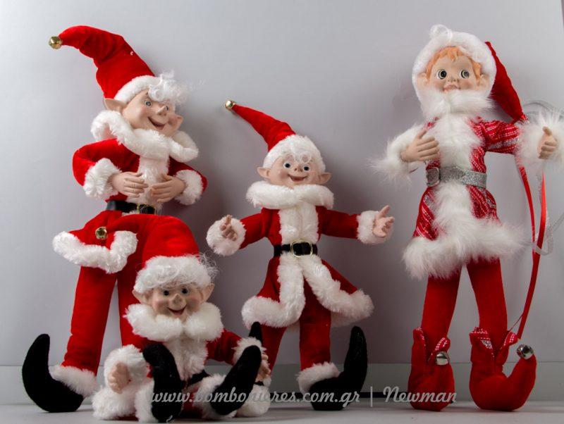 Ξωτικά για να στολίσετε τα ράφια σας elf on the shelf