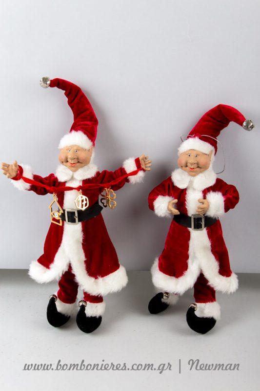 Χριστούγεννα με Ξωτικά στο κατάστημα Newman xotika