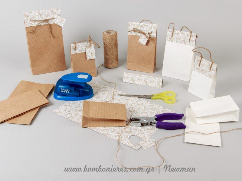 Συσκευασίες δώρων DIY με υλικά Newman