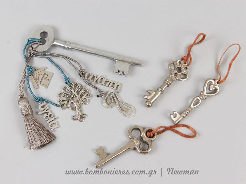 Προτάσεις για χειροποίητα γούρια με κλειδιά