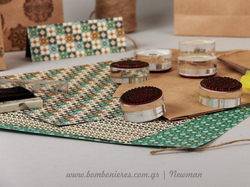 σφραγίδες bohemian style συσκευασίες δώρων boho diy siskevasies dora