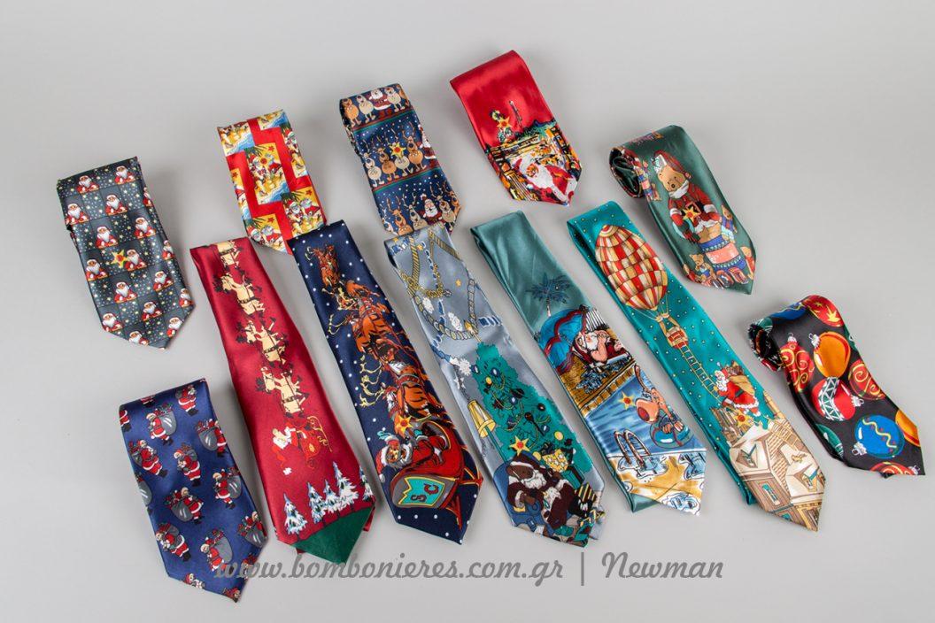Χριστουγεννιάτικες γραβάτες με μουσική gravates xristougenniatikes sxedia