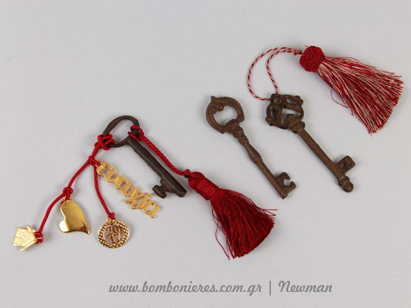 Κλειδιά που μοιάζουν με παλιά κλειδιά από εσωτερικές πόρτες