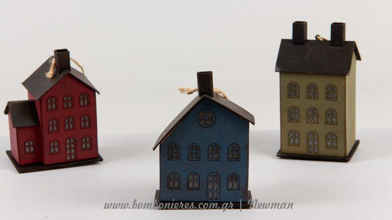 Χάρτινα σπίτι που φωτίζουν με LED και λειτουργούν με μπαταρία