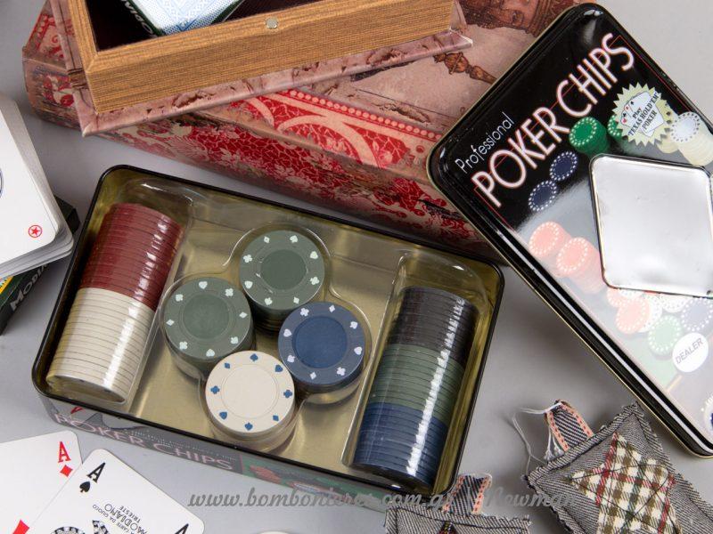 Τράπουλες πόκερ μάρκες trapoules σετ markes poker
