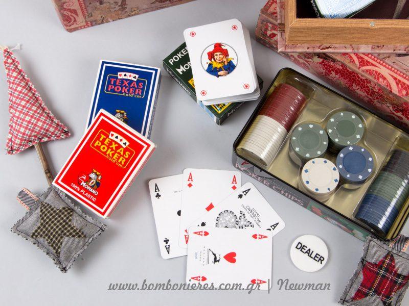 Τραπουλόχαρτα και μάρκες για πόκερ Τράπουλες πόκερ μάρκες trapoules casino markes poker