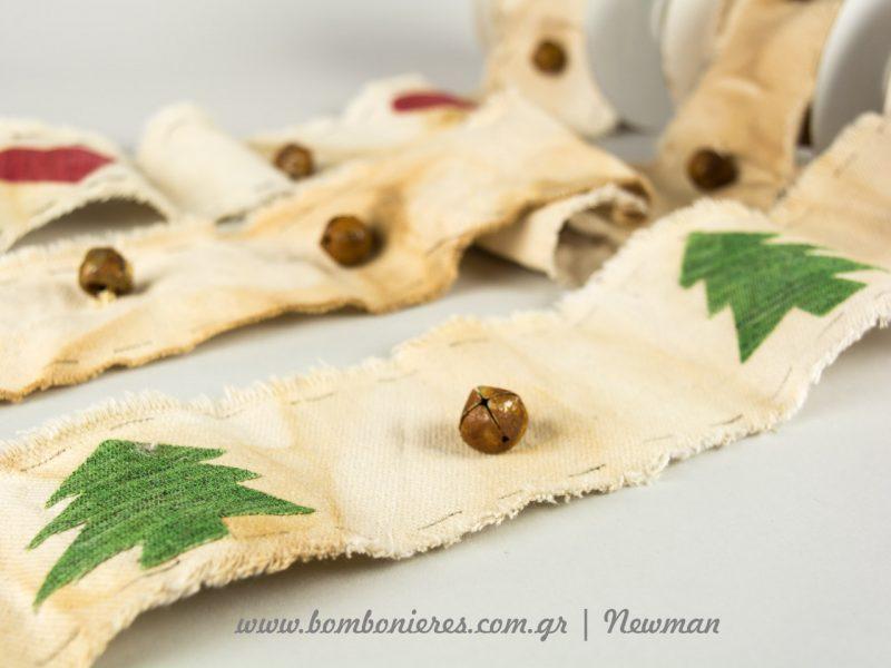 Χριστουγεννιάτικες κορδέλες σαν παλιές xristougenniatikes kordeles