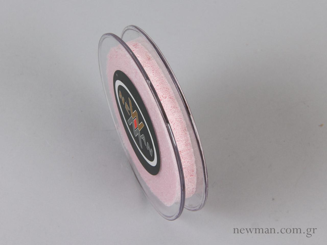 venezzia dantela 15mm 092062 δαντέλα ροζ