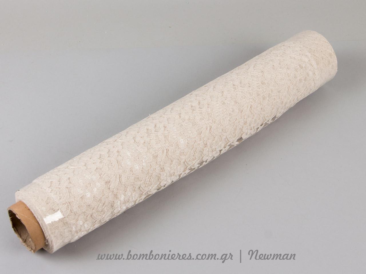 venezzia dantela 50cm 092071 Δαντέλα εκρού