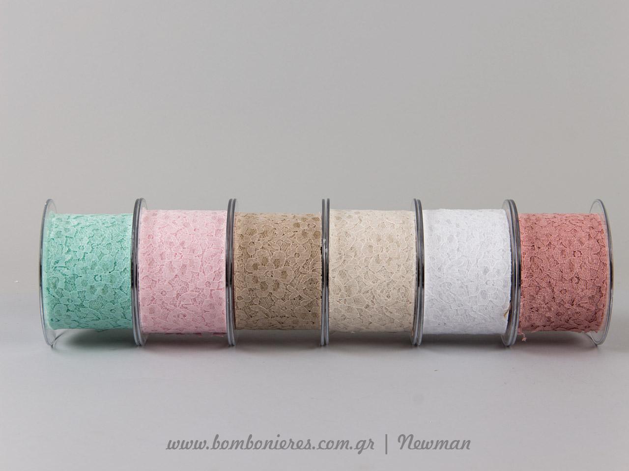venezzia dantela 67mm 092065 δαντέλα 6 χρώματα