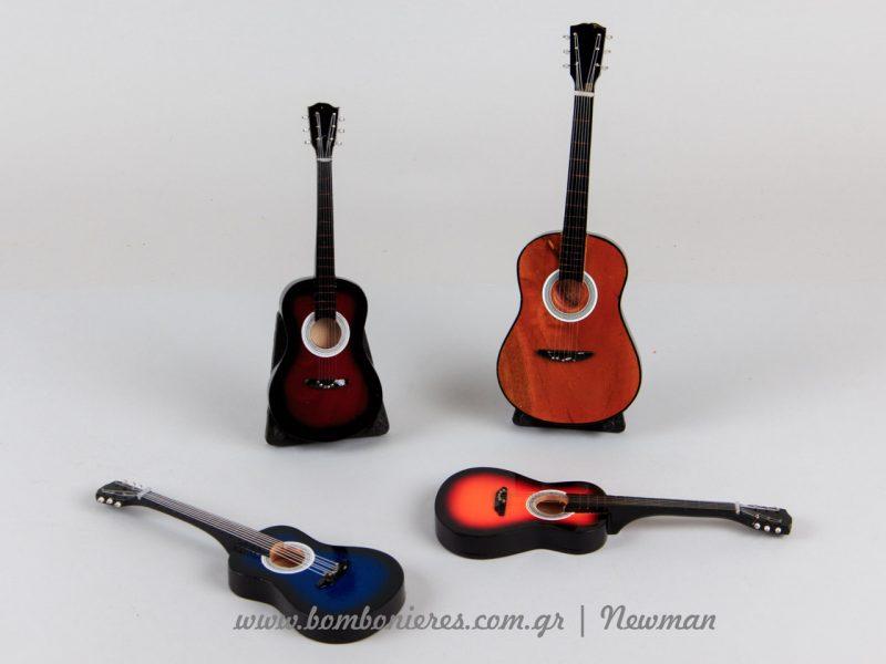 Διακοσμητικές κιθάρες για λαμπάδες kithares miniatoures diakosmitika lampades