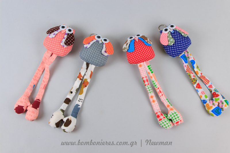 Κουκουβάγιες με πολλά χρώματα mprelok koukouvagies floral ifasma