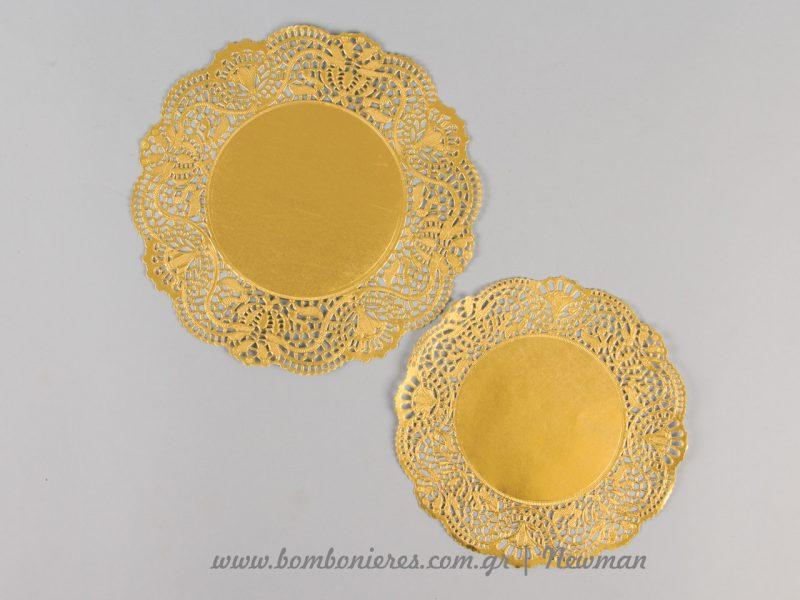 xartines danteles gold paper lace
