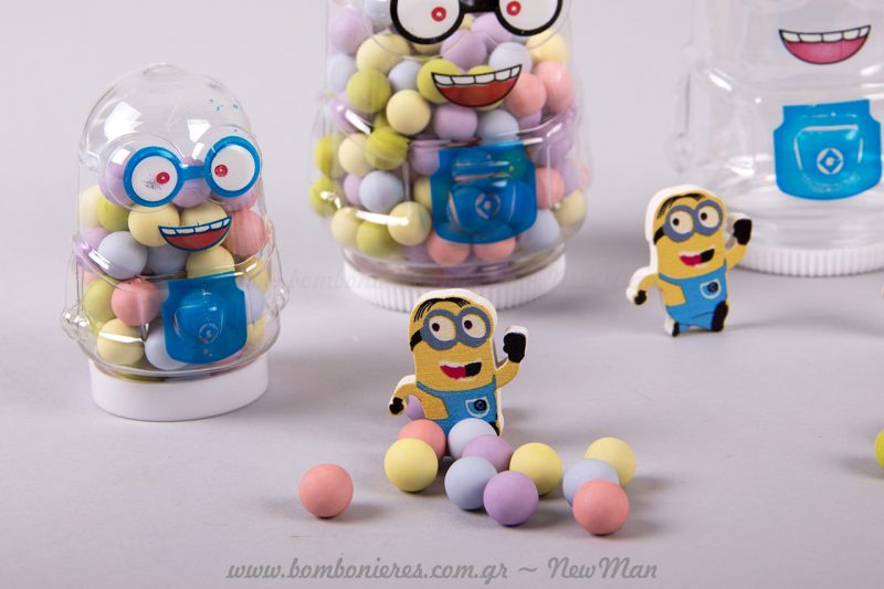 Minions με λαχταριστά και πολύχρωμά Choco Balls