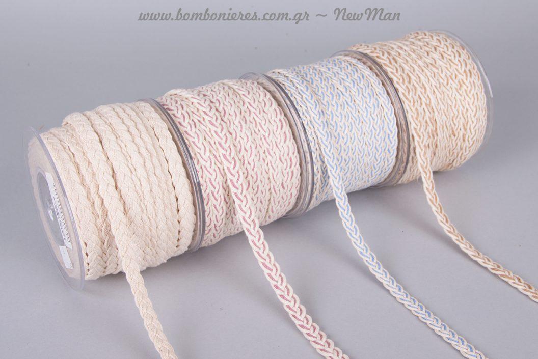 Κορδέλες πλεξούδα για αρχαιοελληνικό στυλ