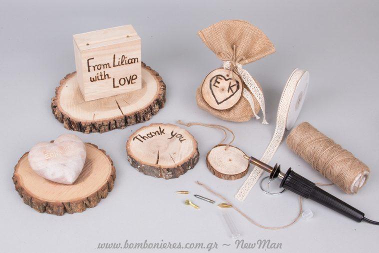 Ιδέες για διακόσμηση γάμου με ξύλο