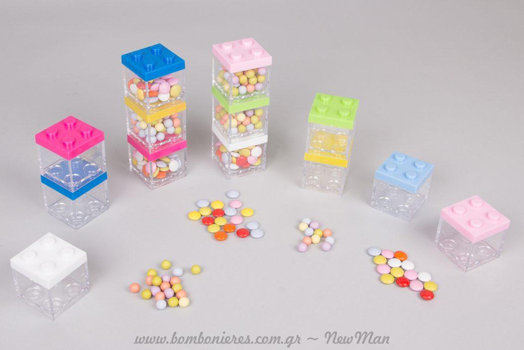 Lego- τρέλα για την μπομπονιέρα της βάπτισης