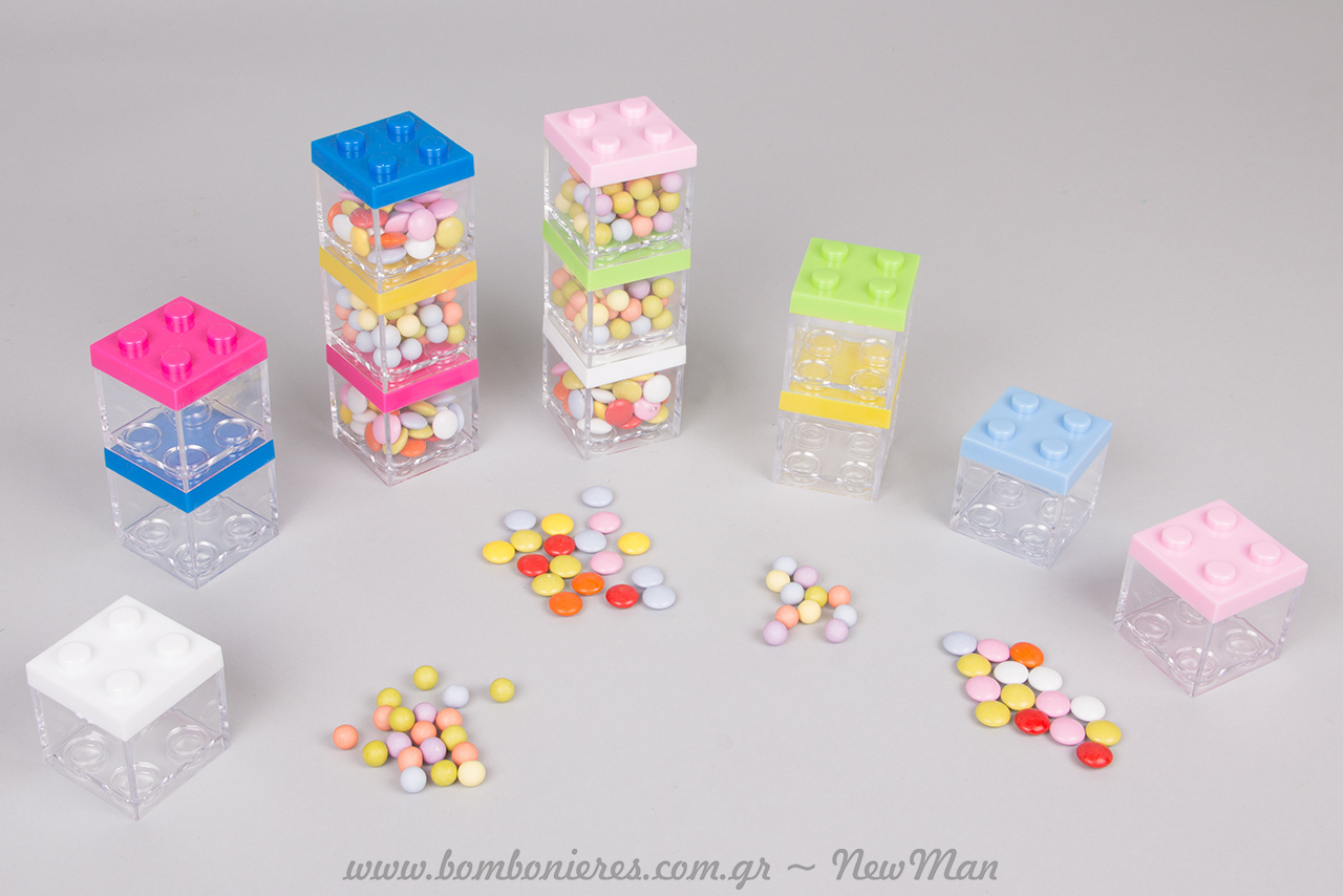 Lego-τρέλα για την μπομπονιέρα της βάπτισης