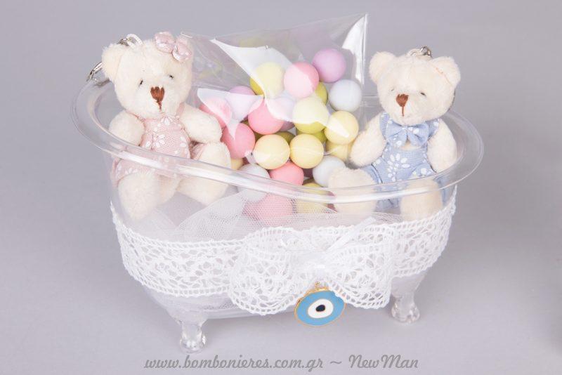 Σούπερ χαριτωμένο baby shower αναμνηστικό δωράκι για τους καλεσμένους σας.