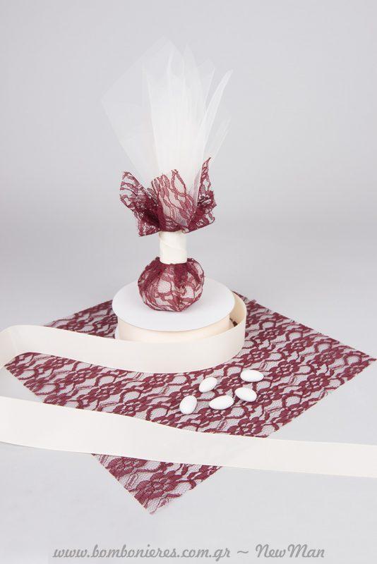 Αριστοκρατική φινέτσα για τον φθινοπωρινό ή χειμωνιάτικο γάμο σας.
