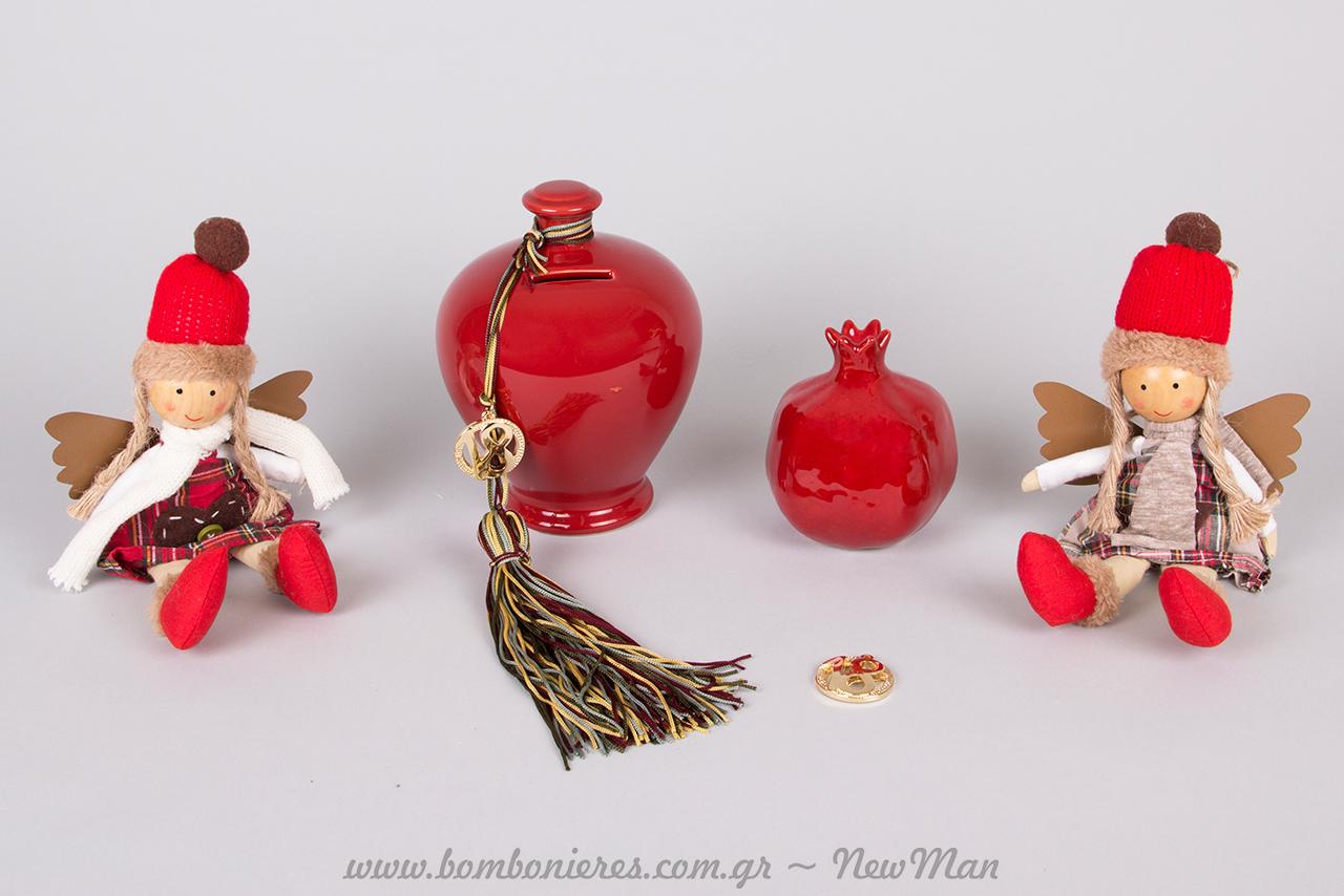 Χριστουγεννιάτικοι θησαυροί σε κόκκινο